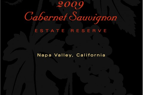 2009 Estate Reserve Cabernet