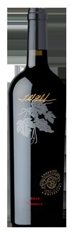 2015 Signature Cabernet Sauvignon Napa valley